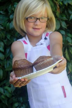 Paige and her Banana Muffins / Karen E Photography (p) Hartford House, Muffin Bread, Whole Eggs, Cake Flour, Salted Butter, Bread Recipes, Soda, Muffins, Bicycle
