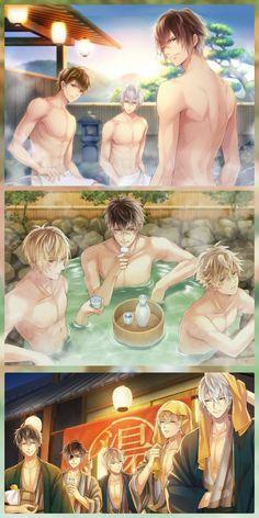 5 Anime, Hot Anime Boy, Cute Anime Guys, Cute Anime Couples, Anime Love, Kawaii Anime, Samurai Love Ballad Party, Shall We Date, Estilo Anime