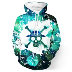 Buy 2017 new fashion Cool sweatshirt Hoodies Men women print One Piece Hot Sale Tee hot Style Streetwear Long sleeve clothing . Printed Sweatshirts, Mens Sweatshirts, Printed Shirts, Hoodies, One Piece Anime, Sweat Shirt, One Piece Hoodie, Moda Pop, Green One Piece