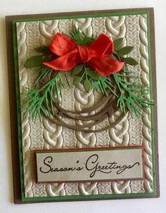Die Cut Cards Christmas