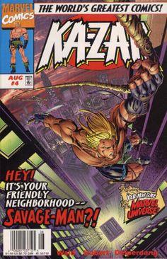 Ka-Zar Vol. 2 # 4 by Andy Kubert & Jesse Delperdang