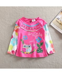Beautiful Long Sleeve Shirt For Baby Girls