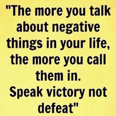Speak VICTORY