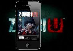 ZombiU mobile application.