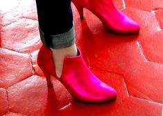 My dream: patricia-blanchet PINK PINK PINK.... Shoe Boots, Ankle Boots, Princess Shoes, Over Dose, Addiction, Letters, Pink, Fashion, Women