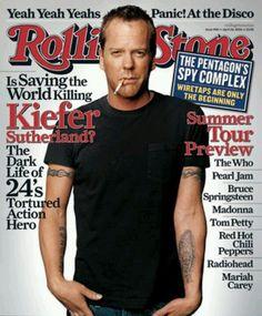 Jack Bauer. Keifer. Ahhhhhh xo