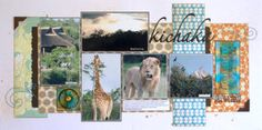 Cariena Basson by at Studio Calico Scrapbook Pages, Scrapbooking, Studio Calico, Layouts, Gallery, Painting, Inspiration, Beautiful, Art