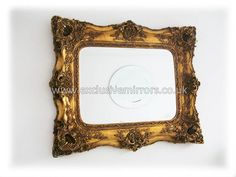 Extra large wall mirror with heavily decorative frame- perfect for create a centrepiece in your home Extra Large Wall Mirrors, Gold Mirrors, Centerpieces, Create, Home Decor, Decoration Home, Room Decor, Center Pieces, Home Interior Design
