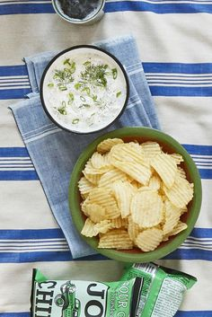 Dill Scallion Dip - Country Living Magazine