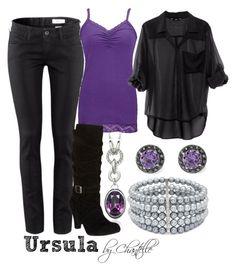 """Ursula"" by disneybychantelle ❤ liked on Polyvore featuring H&M, BKE, Jon Richard and Stella & Dot"