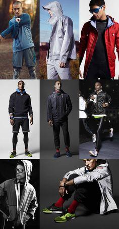 Men's Technical Running Wear Lookbook