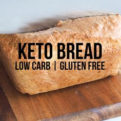 Finding it hard to give up bread? This keto bread will make your life much easier, the best low carb bread on the internet made with almond flour. Keto Foods, Keto Meal Plan, Diet Meal Plans, Pan Cetogénico, Low Carb Brasil, Best Keto Bread, Comida Keto, Menu, Keto Dinner
