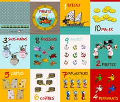 pirate softbook fabric by kallou on Spoonflower - custom fabric