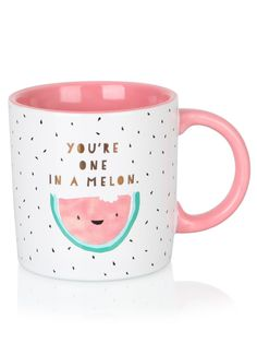 You're One In A Melon Mug - Gifts - Mothers Day | Clintons