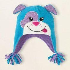Идеи детских шапочек из флиса. За основу можно взять вот эту выкройку