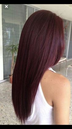 Love This Color H A I R Hair Burgundy Hair Hair Styles