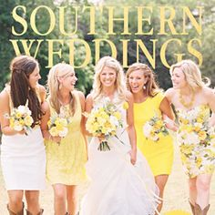 Get a first look at Southern Weddings next issue – V5 out today!