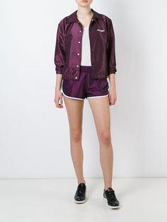 Stussy buttoned bomber jacket
