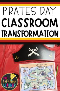 Check out this fun pirate classroom transformation theme for elementary students in first, second, third, fourth, fifth grade. This pirate ship room transformation will set the stage to engage and is stress-free! It's a worksheet or escape room alternative, and can be used in small groups or partners. 1st, 2nd, 3rd, 4th, 5th graders enjoy classroom transformation ideas. Digital and printables for kids (Year 1,2,3,4,5) #setthestagetoengage #classroomtransformation #mathactivities