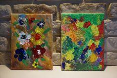 kreatywnyMaks: Wiosenna łąka w dwóch odsłonach