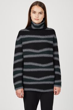 Kenzo Abstract Striped Wool Sweater - WOMEN - JUST IN - Kenzo - OPENING CEREMONY