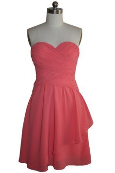 Aliexpress.com :  strapless sweetheart ruffles padded short sexy bridesmaid dress party dress prom dress 421 from Reliable sexy bridesmaid dress suppliers on fashiondress $56.95