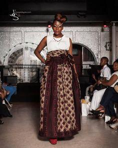 African print high waist shirt by Julianaoklothings on Etsy