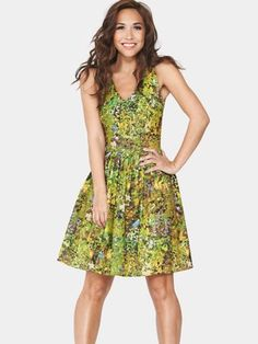 Myleene Klass Floral Printed Day Dress, http://www.very.co.uk/myleene-klass-floral-printed-day-dress/1182201120.prd