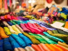 The Tong Tong Fair in The Netherlands. I want to go to this. It looks cool, it's like all of Asia in one big awesome festival right smack dab in Europe. The colors of these Indian pashimas are beautiful and just a few dollars!