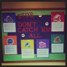 resident assistant bulletin boards | Behind the Scenes with SIU Residence Life: February OTM Winners