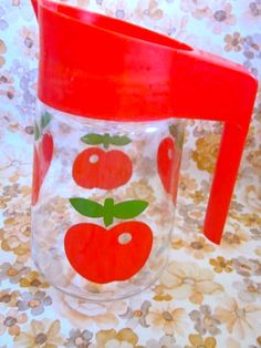 Vintage Apple Henkel Jug by Pommedejour on Etsy, $16.00