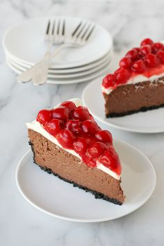 Black Forest Cheesecake…Click here for more food inspiration!.