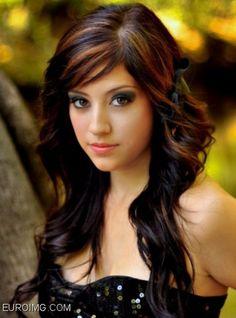 Dark Hair Color Winter 2013