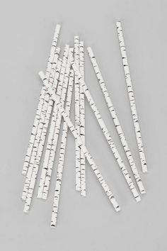 Paper Straws - birch
