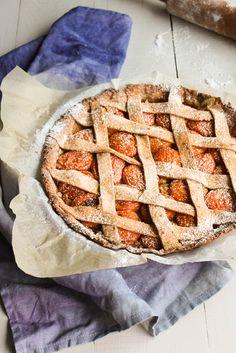 Tarte aux Abricots {Apricot Pie} #vegan - Aime & Mange