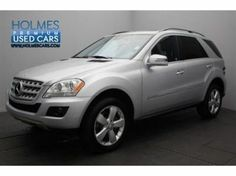 2011 MERCEDES-BENZ M-Class ML350 in Shreveport for sale. A beautiful silver color with Charcoal leather inserts. Stock Number 9433P
