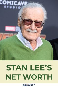 Stan Lee is one of the iconic personalities of the comic industry. Read More about Stan Lee's Net Worth and some intriguing facts about him. Will Eisner, 10 Interesting Facts, Captain America Comic, Errol Flynn, Steve Ditko, Superhero Characters, Stan Lee, Doctor Strange, Marvel Movies