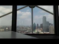 View at Cloud 9 in Reunion Tower over Dallas - YouTube