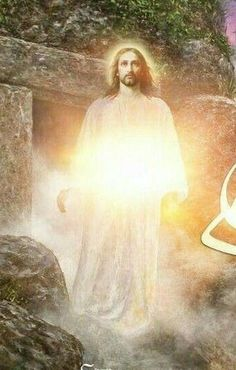 Resurrection of Jesus Pictures Of Jesus Christ, Jesus Christ Images, Jesus Is Risen, Jesus Is Lord, Risen Christ, I Need Jesus, Jesus Prayer, Jesus Christus, Jesus Resurrection