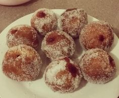 Thermomix Baked jam donuts. ✔️ of approval all round
