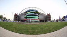 Inauguran primer estadio refrigerado al aire libre para Qatar 2022