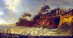 AD 1164 (Saint Julian Flood) Salt Marsh, Holland, Coast, History, Saints, The Nederlands, Historia, The Netherlands, Netherlands