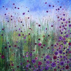 AndreaFarmerArt: 'Lest We Forget' - NEW ethereal landscape painting Watercolor Flowers, Watercolor Paintings, Watercolour, Dot Art Painting, Button Art, Whimsical Art, Acrylic Art, Art Plastique, Painting Inspiration