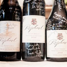 Wine Bottle Guest Book | Betsi Ewing Studio | TheKnot.com