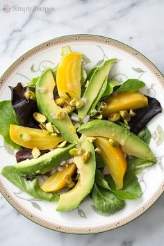 Avocado Beet Salad with Citrus Vinaigrette