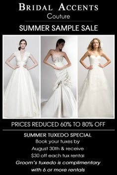 Women's Designer Clothing Sample Sales In Mn Summer Sample Sale amp Tux
