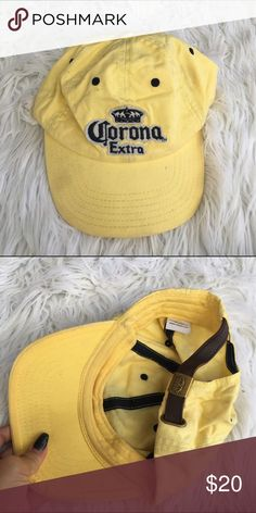 CORONA BEER HAT CAP YELLOW Awesome cap as seen Accessories