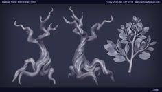 Fantasy portal environment - Page 3 - Polycount Forum Gesture Drawing Poses, Drawing Poses Male, Zbrush Environment, Environment Design, Game Environment, Wisteria Tree, Chinese Wisteria, 3d Tree, Hand Painted Textures