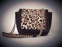 Handbag, leopard