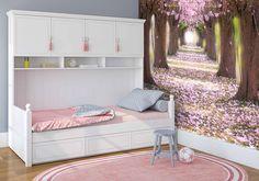 Dzisiaj przedstawiamy Wam piękny różowy pokoik dla dziewczynki :-) http://mural24.pl/konfiguracja-produktu/127469351/ #homedecor #fototapeta #obraz #aranżacjawnętrz #wystrójwnętrz, #decor #desing